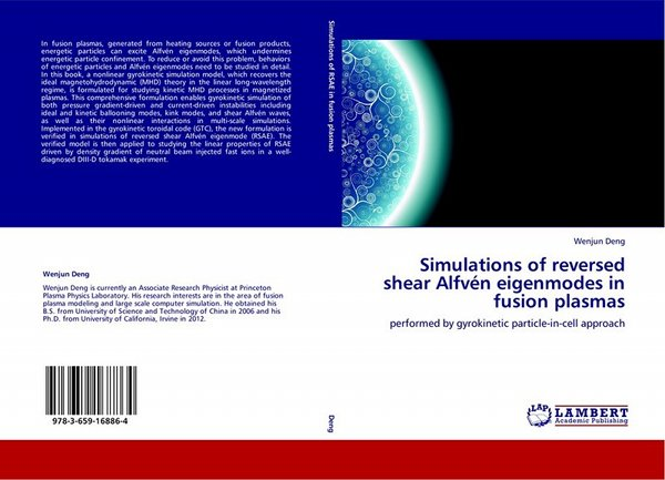 Ph. D. Dissertation: Simulations of reversed shear Alfvén eigenmodes in fusion plasmas performed by gyrokinetic particle-in-cell approach