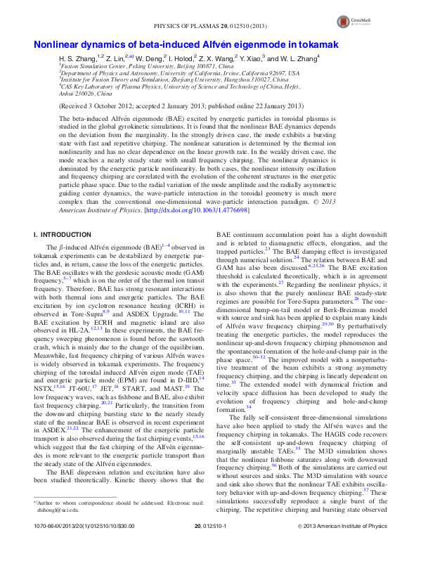 Nonlinear dynamics of beta-induced Alfvén eigenmode in tokamak